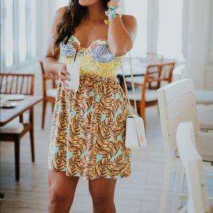 Maaji Lavender Lemonade Dress